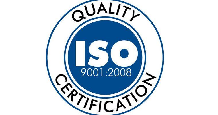 Certyfikat jakości ISO