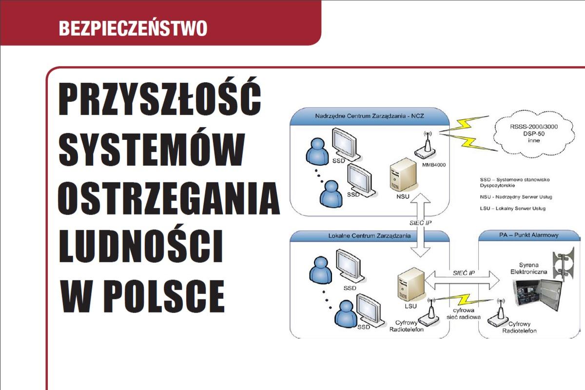 Przyszłość systemów ostrzegania ludności w Polsce
