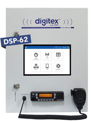 Cyfrowa stacja obiektowa DSP-62