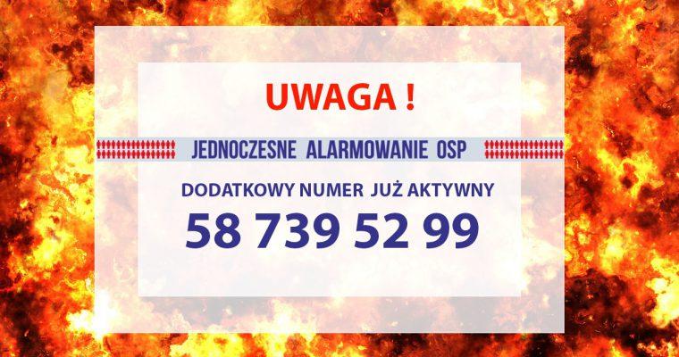Nowy nr alarmowy w JA OSP!