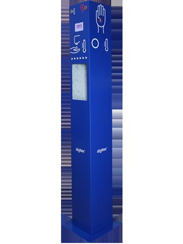 Stacja kontroli temperatury i dezynfekcji rąk SKT30